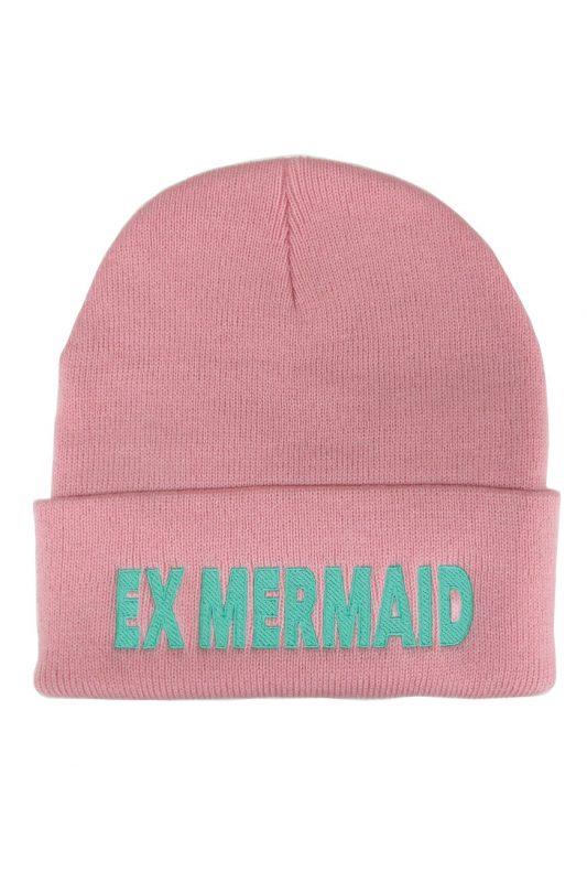 Pink Ex Mermaid Beanie