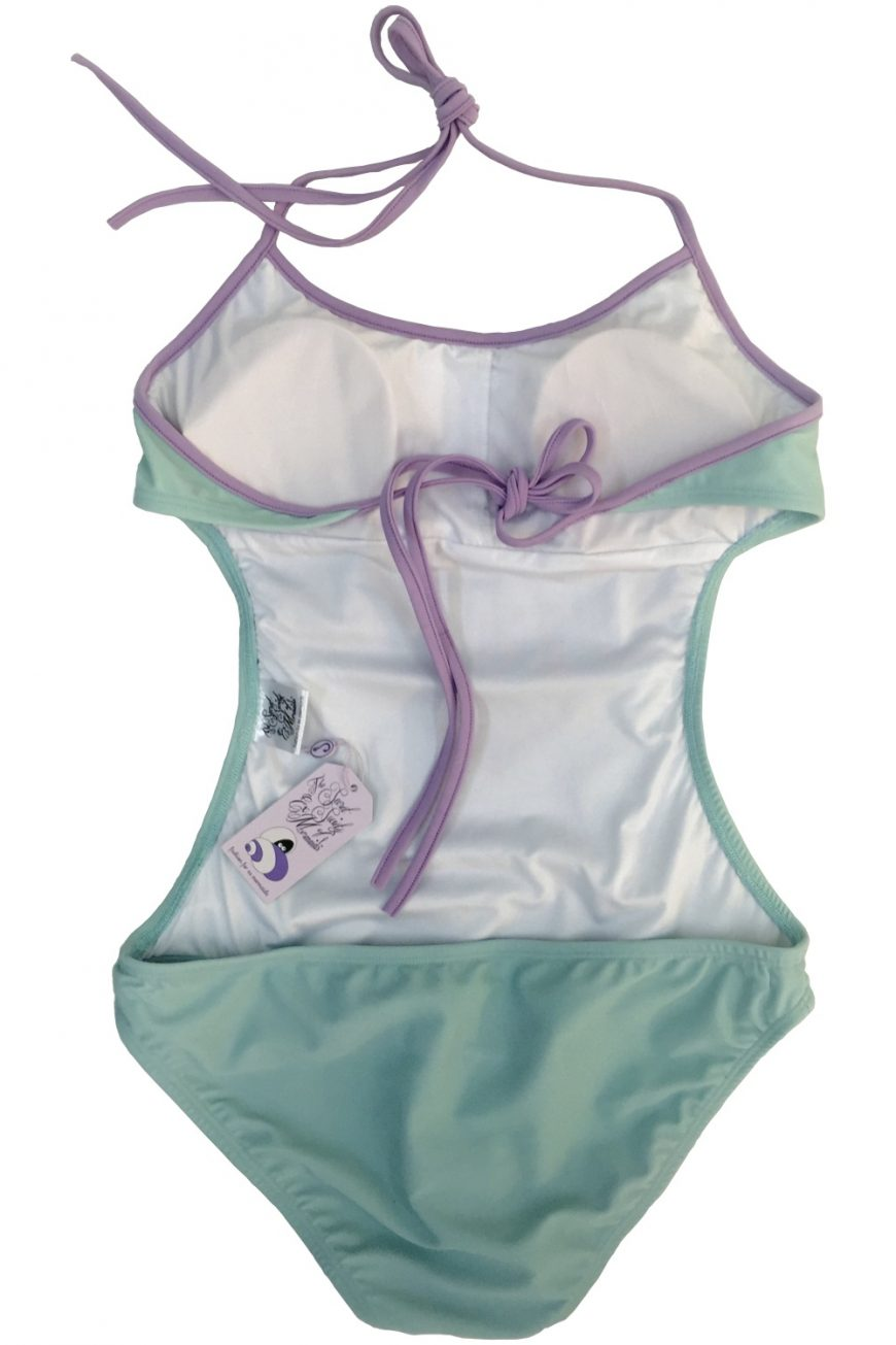 Seafoam Ex Mermaid Monokini
