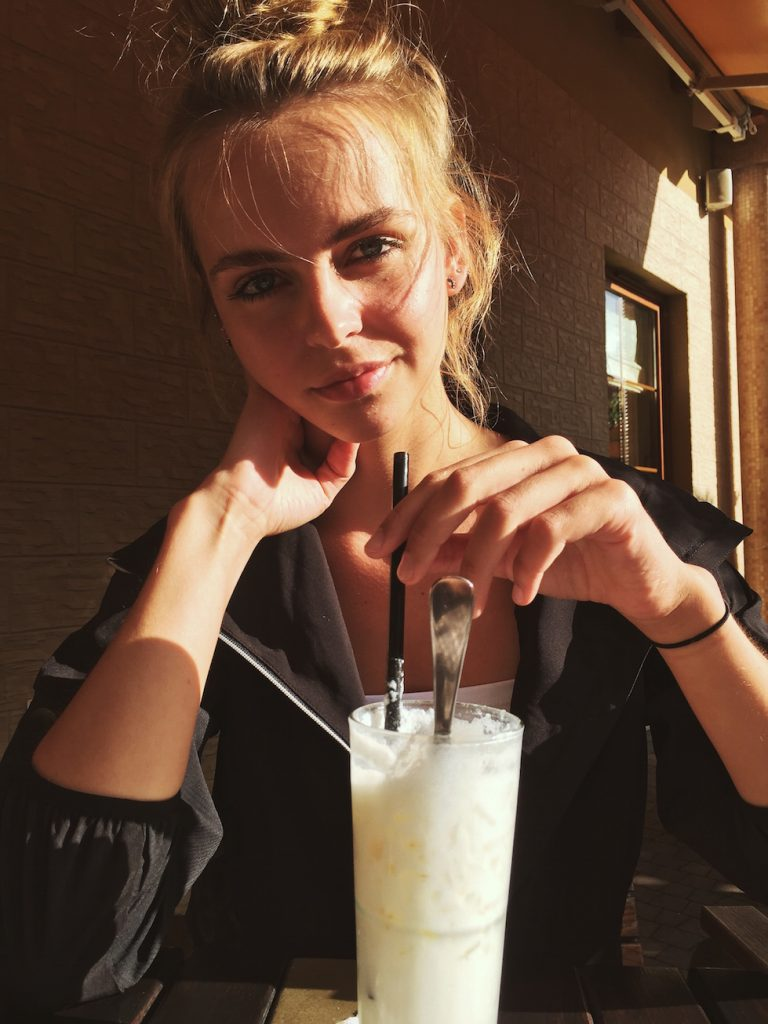 Victoria's Selfie from instagram